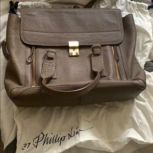 Philip Lim Medium Pashli Bag in Taupe
